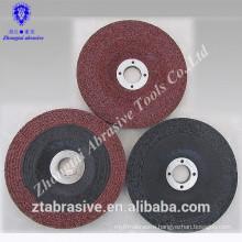 Dressed grinding wheel for metal