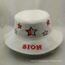 fashionable custom print star bucket hats and caps