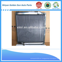 Sinotruk repuestos 1011 plástico y aluminio 1011 radiador
