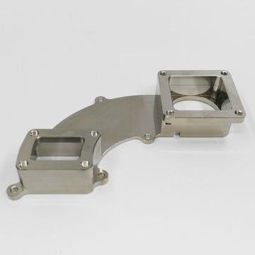Peças de usinagem CNC de precisão niquelada