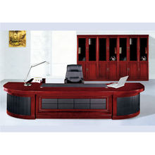Mesa de madera de oficina ejecutiva mesa de papel barato mesa de oficina de diseño 2015 nueva moda