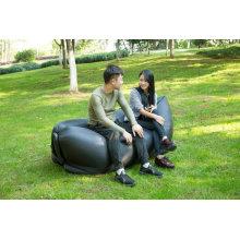 100% Nylon Ripstop Inflatable Sofa Lazy Bag with LED Light