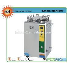 Vertical Pressure Steam Sterilizer With timing, temperature adjuster, water cut