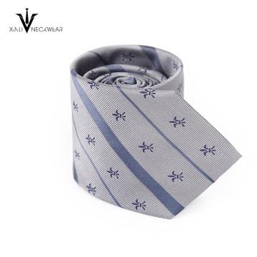 Nuevo diseño manchado brillante corbata, poliéster hombres corbata