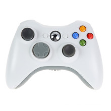 White 2.4G Wireless Gamepad Joypad Game Controlador remoto Joystick com Pc Reciever para Microsoft para Xbox 360 Game Console