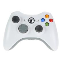 Белый 2.4 G Беспроводной Геймпад Джойстик Игры Пульт Дистанционного Управления Джойстик С ПК Приемник Для Microsoft Xbox 360 Игровой Консоли