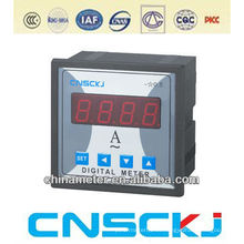 Amperímetro digital monofásico programable