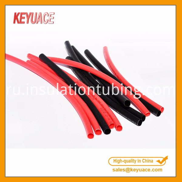Flexible Heat Shrinkable Silicone Rubber Tube