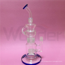 Hot Selling 12inch Height Glass Smoking Water Pipe