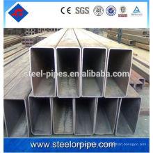 100 * 100 tubos quadrados tubo de aço sem costura