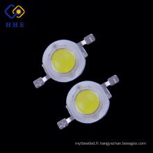 L'usine a produit l'ampoule menée blanche de puissance élevée de la puissance 1W élevée pour le réverbère
