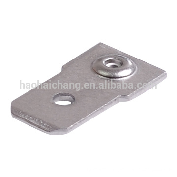 New products metal stamping part u shaped electrical crimp terminal connector