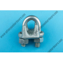 Factory Supplier U. S. Type Hot-Galvanized Drop Forged Wire Cable Clip