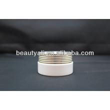 Роскошная форма затвора Акриловый косметический контейнер для сливок
