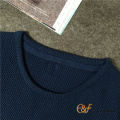 Classique base Crew Neck Basic hommes mince tricoter pull