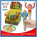 Griff-Affen spielen Gongs Candy Spielzeug