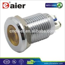 Daier GQ12AS-D 12mm metal 220 voltios led luces indicadoras