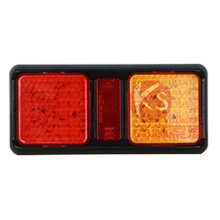 Carré LED remorque remorque LED combinaison feux