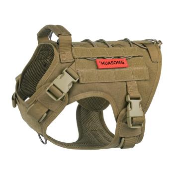 Arnês tático para cães Colete militar Arnês para cães