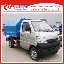 CCAG mini roll-off lift garbage truck
