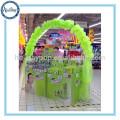 Affichage décoratif décoratif d'étalage de magasin de promotion, affichage cosmétique de plancher