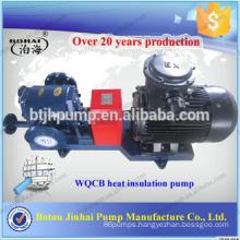 Jacket insulation pump Asphalt heat pump High temperature and high pressure gear pump