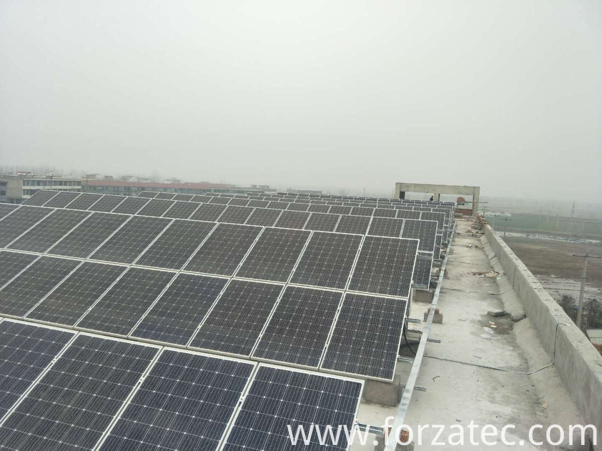 PV Energy System of Mono panel