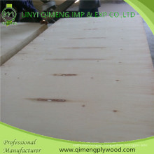 Two Time Hot Press 9mm Poplar Plywood with Good Price