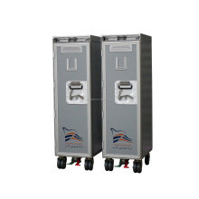 aircraft meal food drink service trolley cart