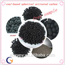 Coal-based spherical activated carbon with low price per ton for water treatment material