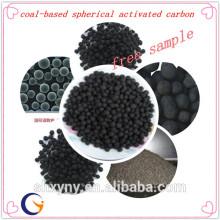 Угля на основе сферического активированного угля с низкой ценой за тонну для очистки воды материал