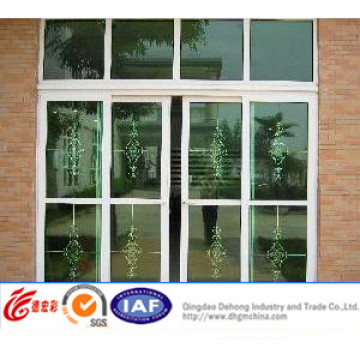 2015 Vente en gros Chine Vinyle PVC / Aluminium Portail coulissant de patio