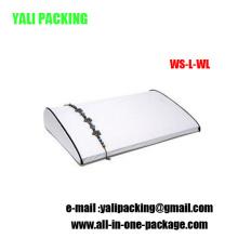 Exhibición durable de la pulsera de la PU de la PU del Leatherette (WS-L-WL)