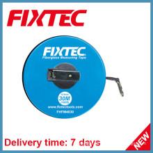 Fixtec Handwerkzeuge 30m ABS Kunststoff Fiberglas Maßband