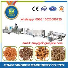 400 kg por hora linha de produção completa de alimentos para cães que faz a máquina