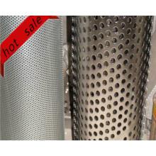 Aluminium / Stahl Perforierte breite Verwendung Metall für Filter