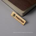 Professional Design Custom Rectangle Laser Marking Metal Badges for Staff