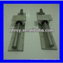 Alimentation TBR Aluminium Rail de guidage linéaire et bloc TBR30