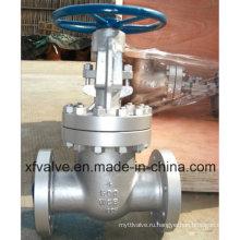 150lb 300lb Литой запорный вентиль фланцевого типа Wcb из углеродистой стали