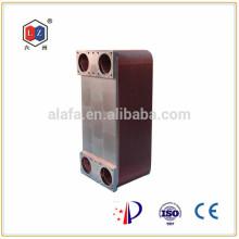 Jiangyin 6z soldadas intercambiador de calor, refrigerador de aceite de china de máquina del cnc