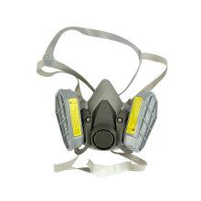 Halbes Gesichtsgasmasken-Atemschutzgerät