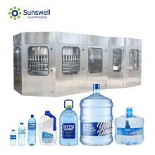 Máquina automática de enchimento de garrafas de água de plástico