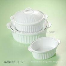 Porcelain baking set JXPB-001