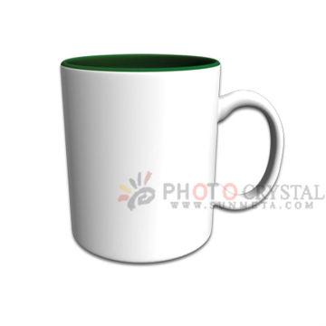 Couleur à l'intérieur de la tasse mug de couleur intérieure tasse de céramique sublimation