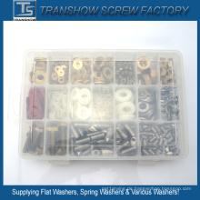 Befestigungs-Kits Schraube Washer DIY-Box