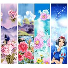 Design de fleurs élégamment élégant 100% tissu de coton