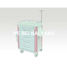 B-62 Больница ABS Тележка / ABS Аварийная тележка