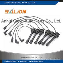 Câble d'allumage / fil d'allumage pour Mitsubishi Pajero (MD-338429)