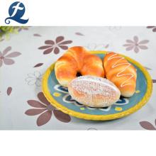 High quality ceramic round shaped modern restaurant fruit plate