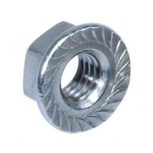 Carbon Steel Hex Flanschmutter DIN 6923